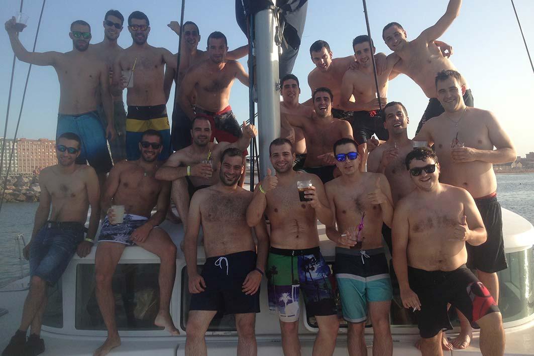 celebraciones en embarcacion en gijón